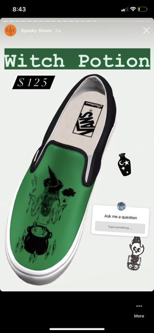 Witch Potion Custom Vans for Sale in Stafford Township, NJ