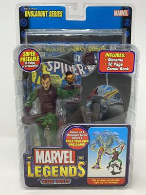 Marvel Legends Series 13 > Green Goblin (Unmasked Chase Variant) Action Figure for Sale in El Monte, CA