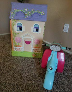 play house dolls set for Sale in Phoenix, AZ
