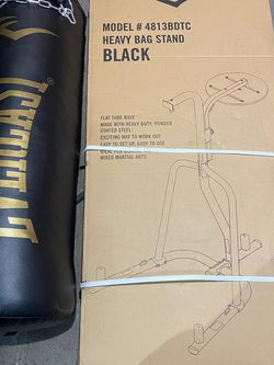 Everlast 80 lbs Boxing Punching bag with stand and speed bag.... Brand New in Box! Never used! Same day pick up! for Sale in Lawndale,  CA