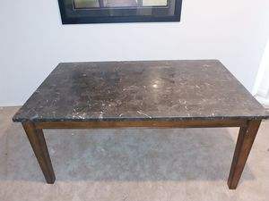 Kitchen table marble 5 ft 6 in for Sale in W CNSHOHOCKEN, PA