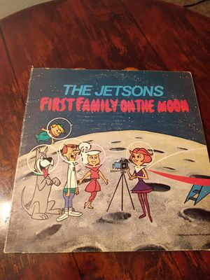 The Jetsons first family on the moon LP Vinyl Record for Sale in Riverside, CA
