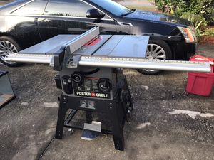Porter cable Table saw for Sale in Lake Wales, FL