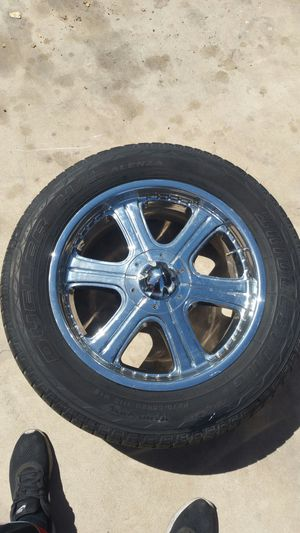 20in rim and tires for Sale in Tempe, AZ