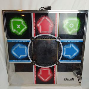 Ddr arcade dance pad for ps2, pc, Wii, Xbox. for Sale in Snohomish, WA