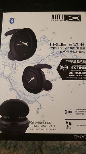 Altec Lansing True EVO + Earbuds/ Acc for Sale in Dallas, TX