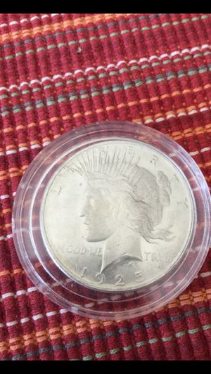 1925 Silver Peace Dollar for Sale in Corona, CA