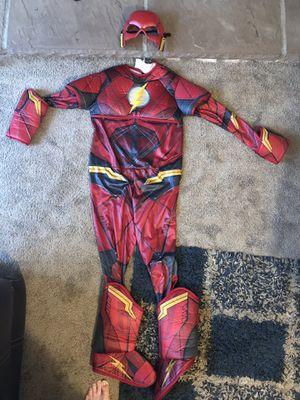 Kids Flash Costume, medium for Sale in El Cajon, CA
