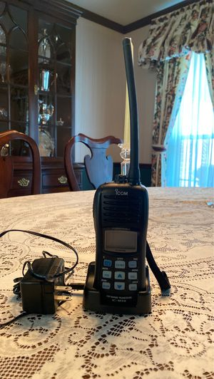 ICM Ship to Shore hand held VHF radios w/ charger for Sale in Wheaton, IL