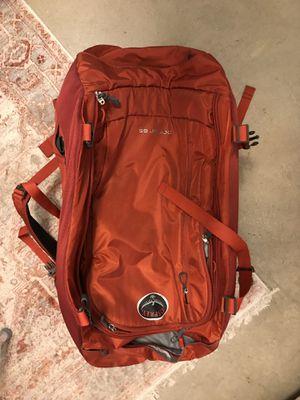 Osprey Packs Porter 65 Travel Backpack in Diablo Red for Sale in Houston, TX