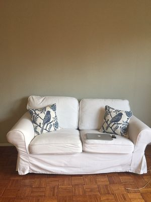 Pottery Barn double couch excellent condition with removable washable cover for Sale in Brooklyn, NY