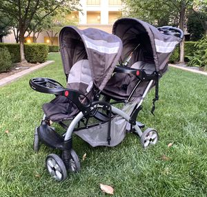 Double stroller: Baby trend Stand N Sit for Sale in San Jose, CA