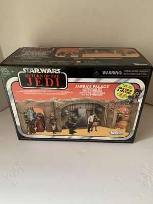 Star Wars jabbas palace play set for Sale in Peoria, AZ