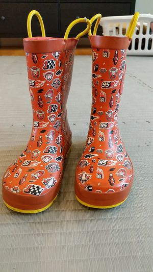 Lightning McQueen rain boots. for Sale in Chicago, IL