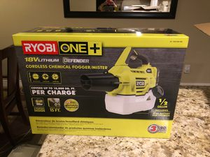 Roybi one+ 18v fogger (brand new) for Sale in San Diego, CA