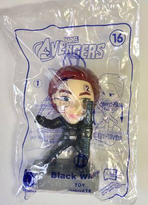 McDonald's Marvel Avengers Toy #16 Black Widow for Sale in Los Angeles, CA