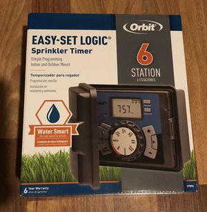 Orbit 6 Station Easy Dial Sprinkler Timer. for Sale in Los Angeles, CA