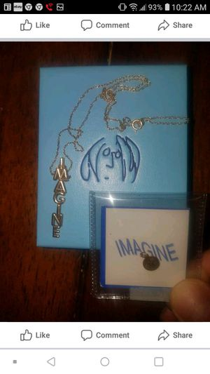 John Lennon collector's item 14k gold pendants for Sale in Collinsville, IL
