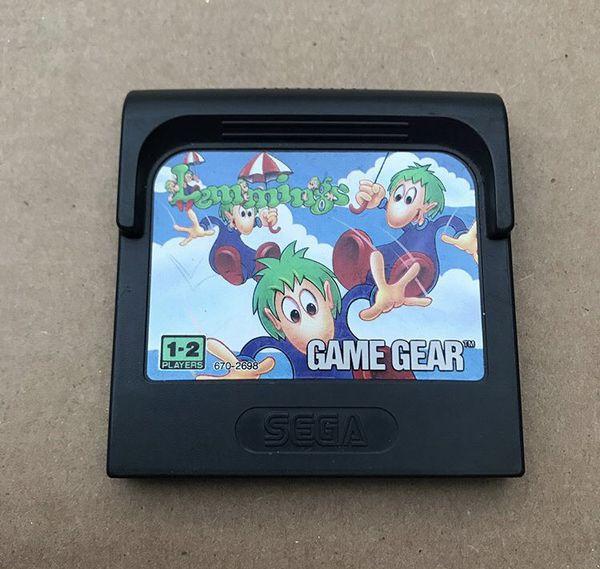 Sega Game Gear Lemmings