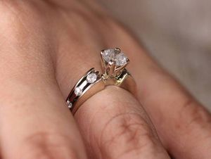 14k 1.08 Diamond Eternity Band Solitaire Engagement Wedding Ring for Sale in Las Vegas, NV