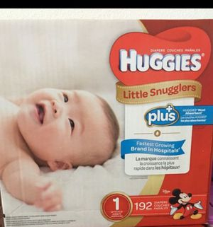 Huggies Diapers 192 counts! for Sale in Sacramento, CA