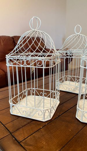 3 wedding bird cages for Sale in Monument, CO