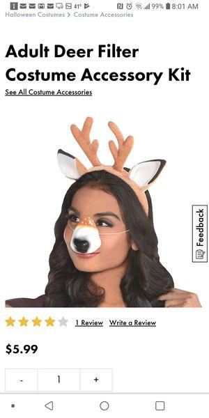 Deer selfie kit with deer gloves for Sale in Chicago, IL