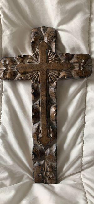 Stone Finish Wall Cross for Sale in Lake Ridge, VA
