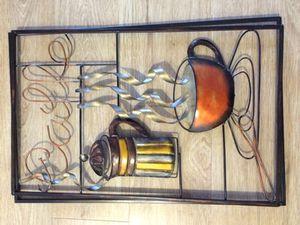 Coffee kitchen Decor metal for Sale in Salt Lake City, UT