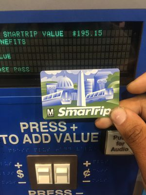 $195 dollars on this SmartTrip card for Sale in Washington, DC