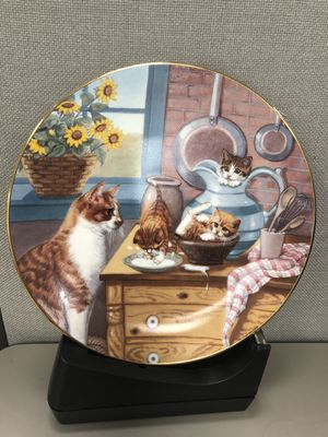 County Kitties eight limited edition collectors plates for Sale in Great Falls, VA