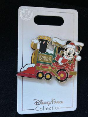 Disney Mickey Mouse North Pole Express Christmas Train Pin for Sale in Rancho Santa Margarita, CA