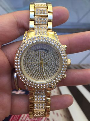 Mk Michael kors crystal watch unisex for Sale in Silver Spring, MD