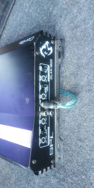 AMP SPL GORILLA 1800W 4CH WORKS GOOD for Sale in Los Angeles, CA