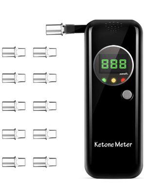 Professional Portable Ketone Breath Meter, Ketone Breath Tester, Digital Ketone Breathalyzer with 10 Mouthpieces for Sale in Pompano Beach, FL