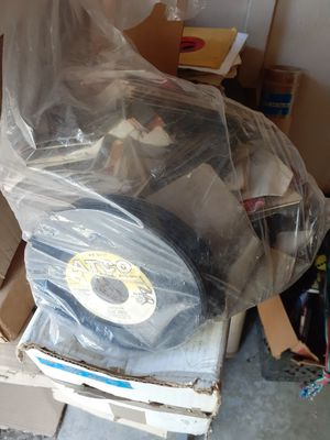 Big Stack Of Vintage 45rpm Records for Sale in Los Angeles, CA