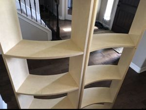 Crate and Barrel Wave Bookshelves for Sale in Wylie, TX
