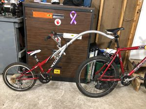 Trek Tag-along bike red for Sale in Osseo, MN