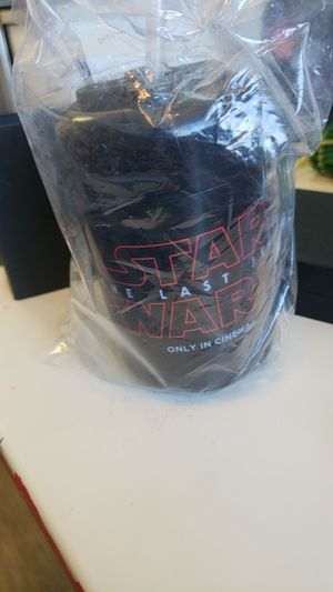 Star wars collectable cup for Sale in Poway, CA