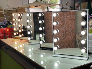 """💋💄💡26"""" x 20"""" Hollywood Style LED Vanity Mirror with Dimmable Light Bulbs for Makeup Vanity Table Set in Dressing Room💋💄💡 for Sale in Montclair, CA"""