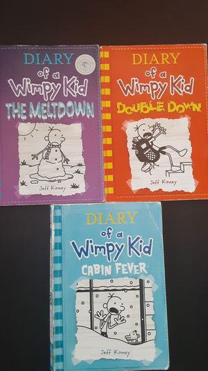 Diary of a Wimpy kid books for Sale in Sunnyvale, CA