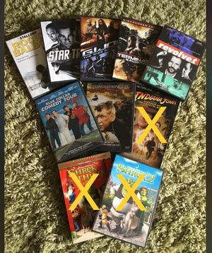 7 assorted DVD for Sale in San Diego, CA
