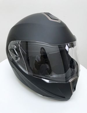 (NEW) $45 Full Face Motorcycle Bike Helmet Flip up Dual Visor (M, L, XL) DOT Approved for Sale in Whittier, CA