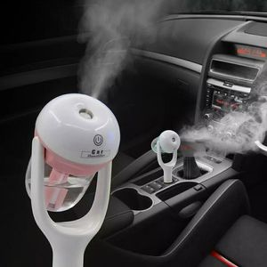 Portable Car Humidifier DC 12V Air Purifier Auto Mist Maker Aroma Sprayer Fogger Steam Essential Oil Diffus for Sale in Glendale, CA