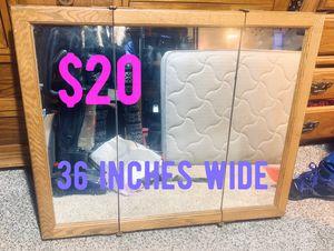 Medicine cabinet vanity - 36 wide - doors mirror - shelves for Sale in Tacoma, WA