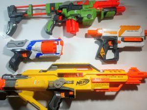 Broken Nerf guns bundle for Sale in Virginia Beach, VA