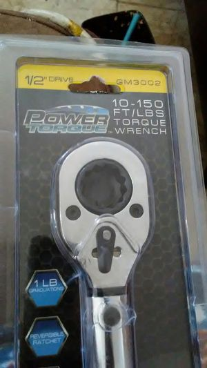 Power Torque 10-150 ft/lbs torque wrench for Sale in Las Vegas, NV