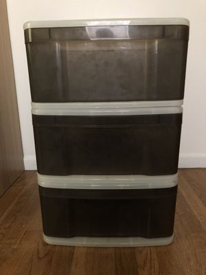 Stacking Plastic Drawers for Sale in Richardson, TX
