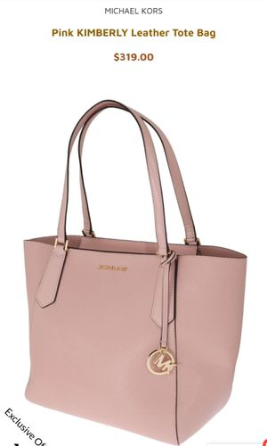 Michael Kors Pink KIMBERLY Leather Tote Bag for Sale in Covina, CA