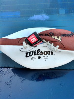 Official Wilson Signed by Randi Barber Football for Sale in Tampa, FL